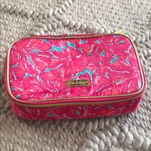 Lilly Pulitzer Travel Makeup Case